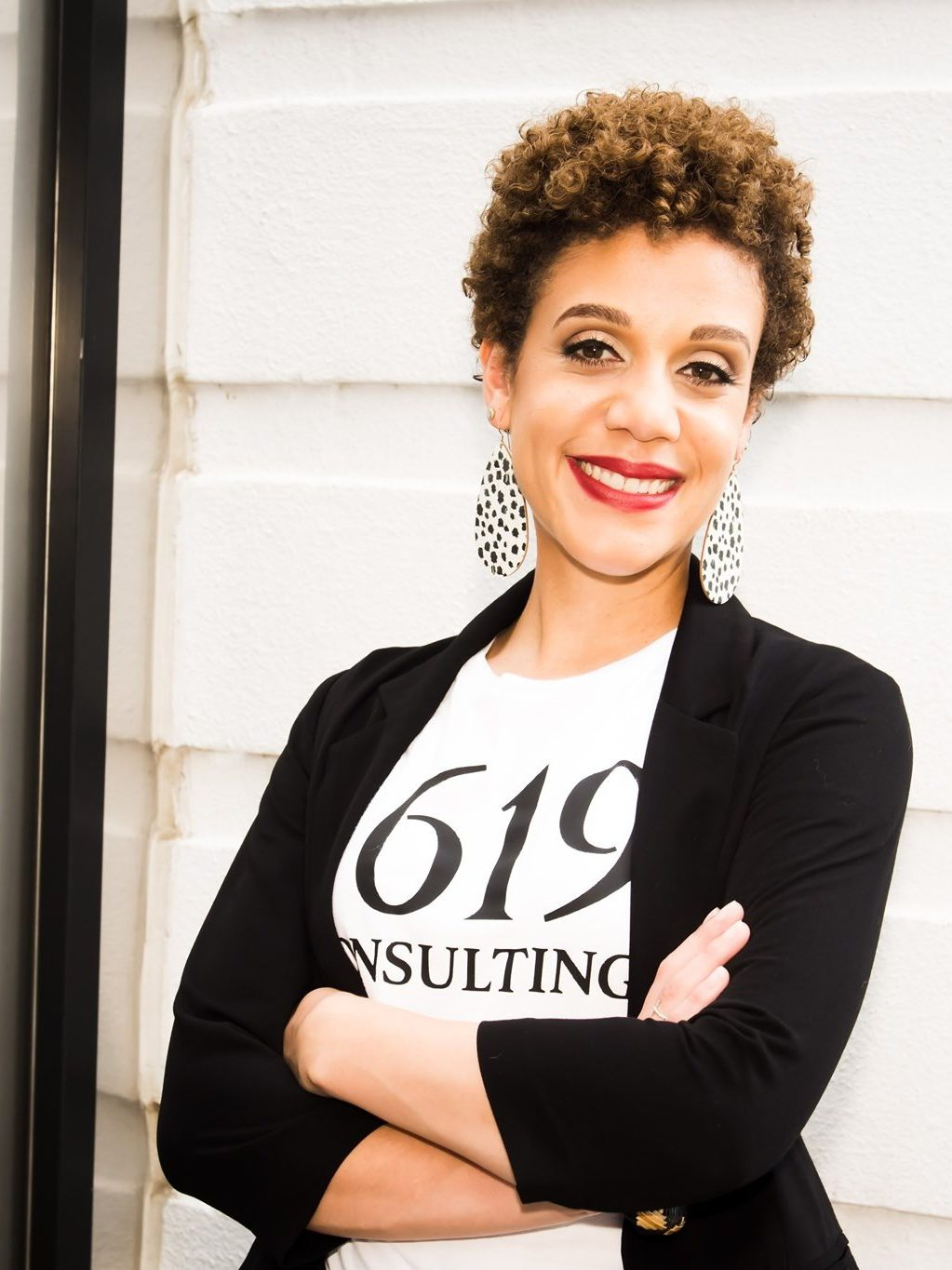 Bryana Clover headshot, Founder of 1619 Consulting and collaborator of CCW Transformation Ministries
